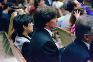 Kris & Bruce Jenner at OJS trial 9.27.1995